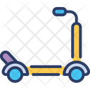Scooter Sport Transport Icon