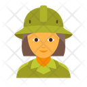 Scout female Icon