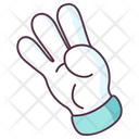 Scout Gesture Hand Gesture Hand Indicator Icon