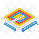 Scramble Board Board Game Spelling Game Icon
