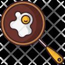 Scrambled Eggs Food Icon