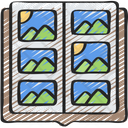 Scrap Booking Picture Icon