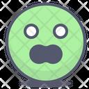 Scream Shocked Shock Icon