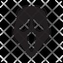 Halloween Scream Scary Icon