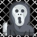 Scream Killer Halloween Icon