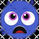 Screaming Face Fear Emoji Emoticon Icon