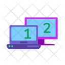 Laptop Screen Monitor Icon