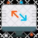 Screen Ratio Inches Icon