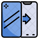 Mobile Phone Screen Cover Icon