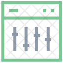 Screen Equalizer Icon