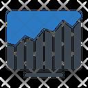 Screen Graph Icon