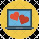 Screen hearts Icon