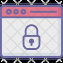 Screen Lock Browser Internet Icon