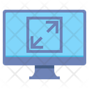 Screen Magnification Arrow Direction Icon