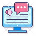 Screen Reader Message Reader Icon