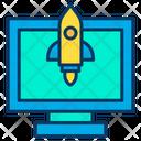 Screen Rocket Icon