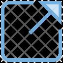 Arrow Expand Full Icon