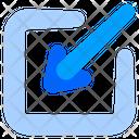 Screen Settings Minimize Sign Resize Icon