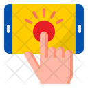 Screen Touch Smartphone Mobilephone Icon