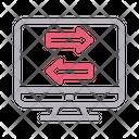 Transfer Exchange Arrow Icon