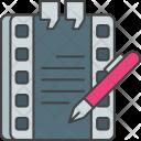 Screenwriting Story Icon