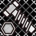 Screw Tool Construction Icon
