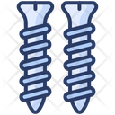 Screw Metal Pin Icon