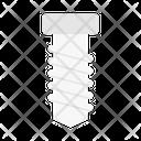 Screw Nail Construction Icon
