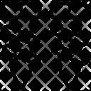 Metal Steel Bolt Icon