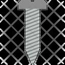 Screw Coil Corkscrew Crimp Icon