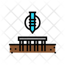 Pile Screw Foundation Icon