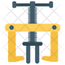 Screw Presser Constructing Tool Construction Equipment Icon