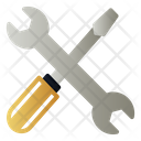 Screwdrive And Wrench Icon