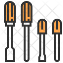 Screwdriver Tool Construction Icon