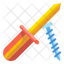 Screwdriver Tools Home Icon