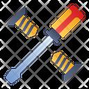 Screwdriver Bolts Repair Icon