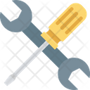 Screwdriver And Spanner Icon