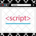 Script Programming Language Icon