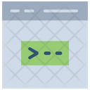 Script Web Developing Web Coding Icon