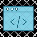 Script Page Seo Icon