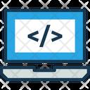 Scriptv Script Coding Icon