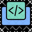 Script Text Concept Icon