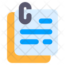 Script Story Document Icon