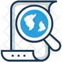Script Search Magnifier Icon