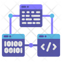 Script Code Connection Icon