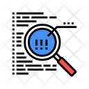 Code Research Color Icon