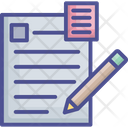 Document Form Paperwork Icon