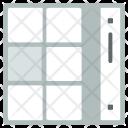 Scroll Menu Tiles Icon