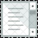 Scroll Written List Icon