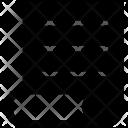 Scroll Paper Script Icon